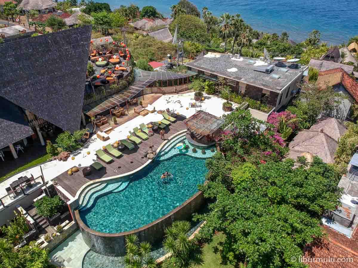 Public pool The Griya Villa and Spa juga oke kok buat berenang