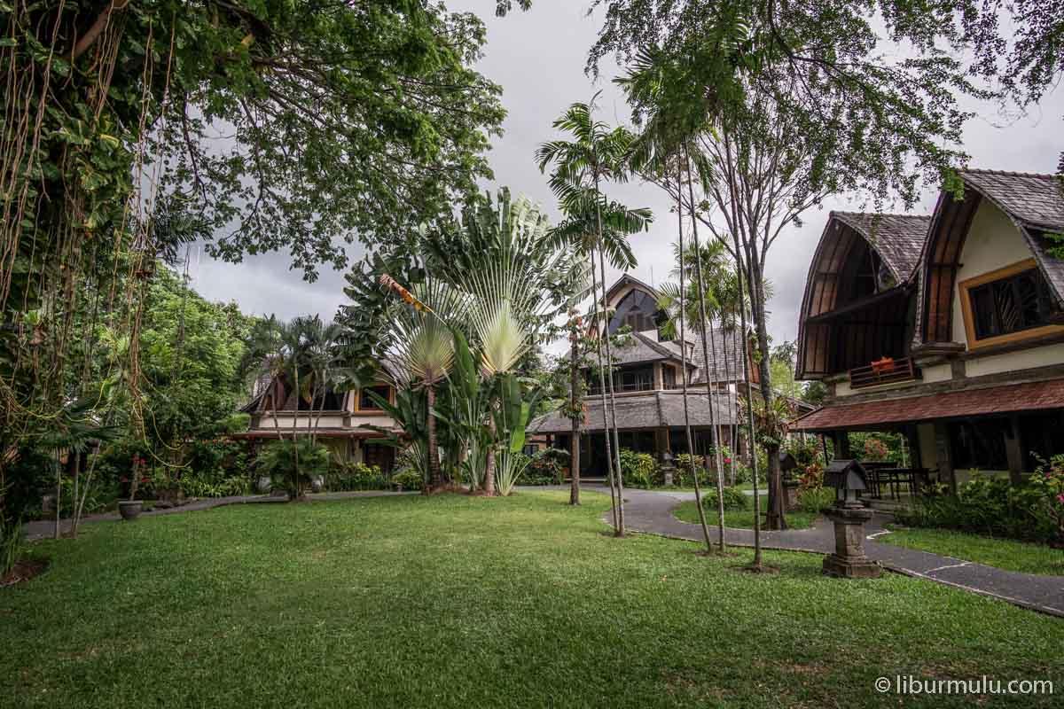 Salah satu hotel di Bali dengan desain yang unik