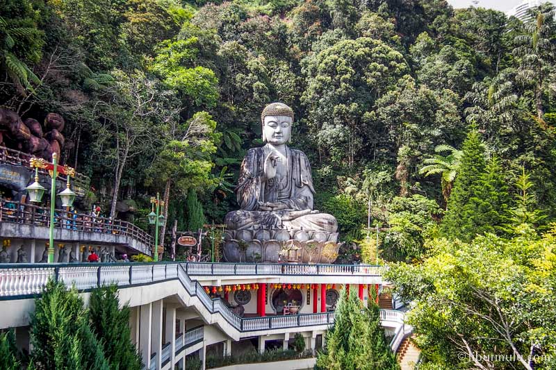 chin swee temple - buddha statue