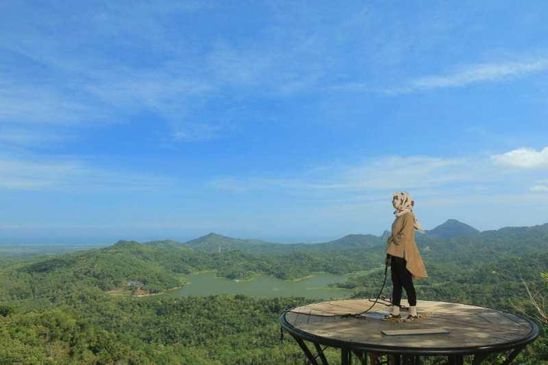 Pemandangan di Kalibiru tetap terbaik! via @dfa.dilla