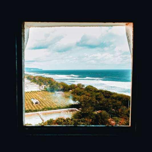 Pemandangan dari dalam Mercusuar Pantai Pandansari. via @pipit1992