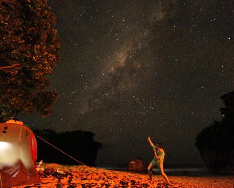 Pantai Ngetun ini merupakan teluk yang Indah untuk Camping! via @shenwansan
