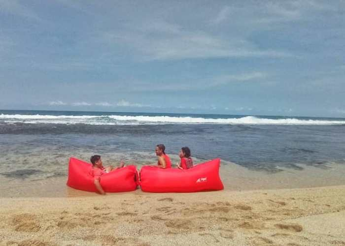Pantai Porok adalah salah satu pantai tersembunyi di jogja. via @arioardhi