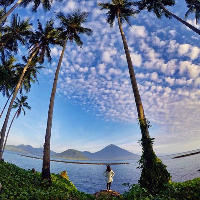 Pantai Sasa, Ternate Selatan, Maluku Utara