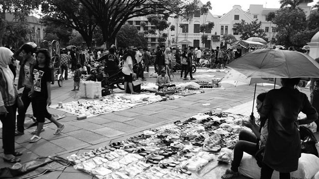 Kota Tua Jakarta, cikal bakal dari hiruk pikuk metropolitan.