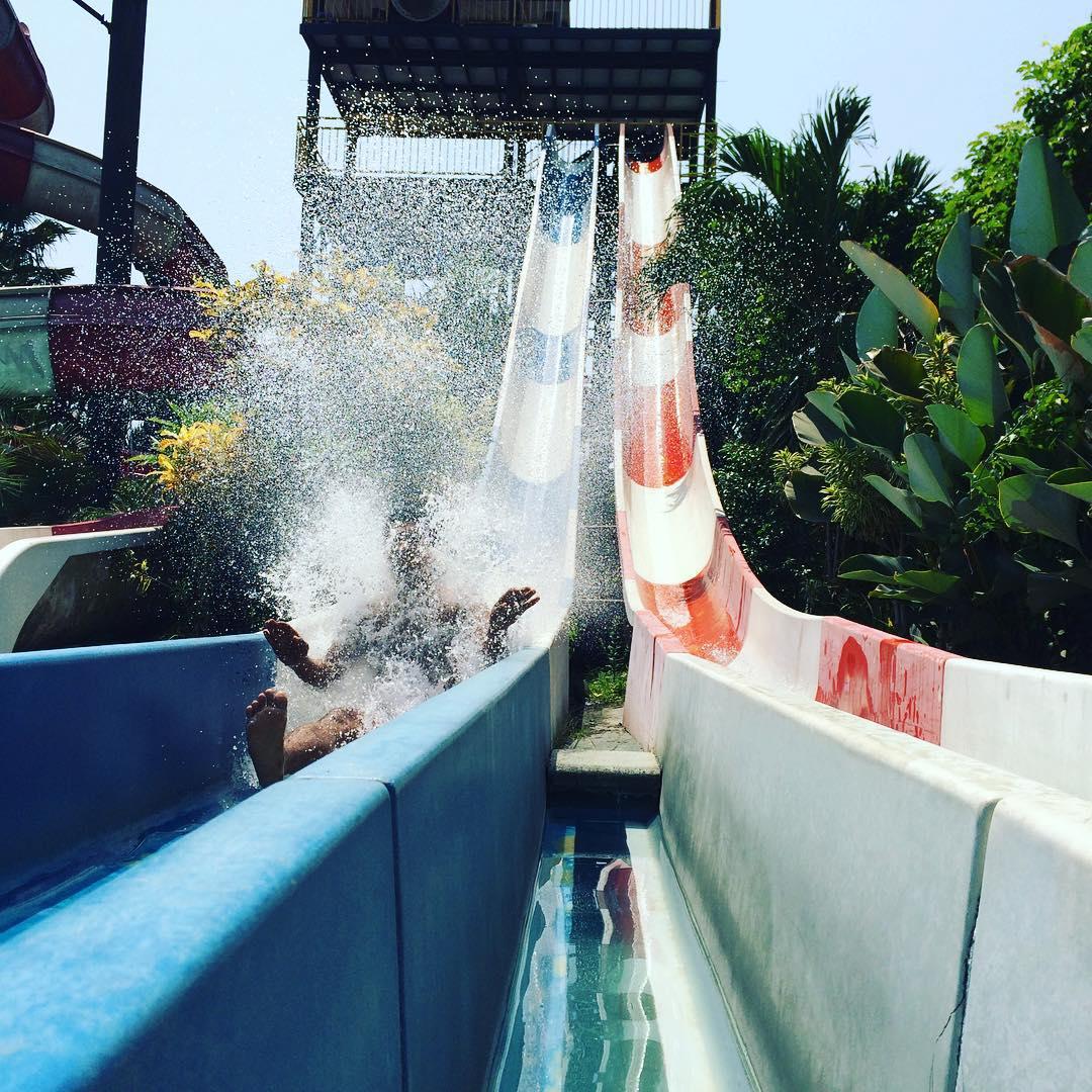 Rasakan Asiknya Liburan Bareng Keluarga Di Balong Waterpark