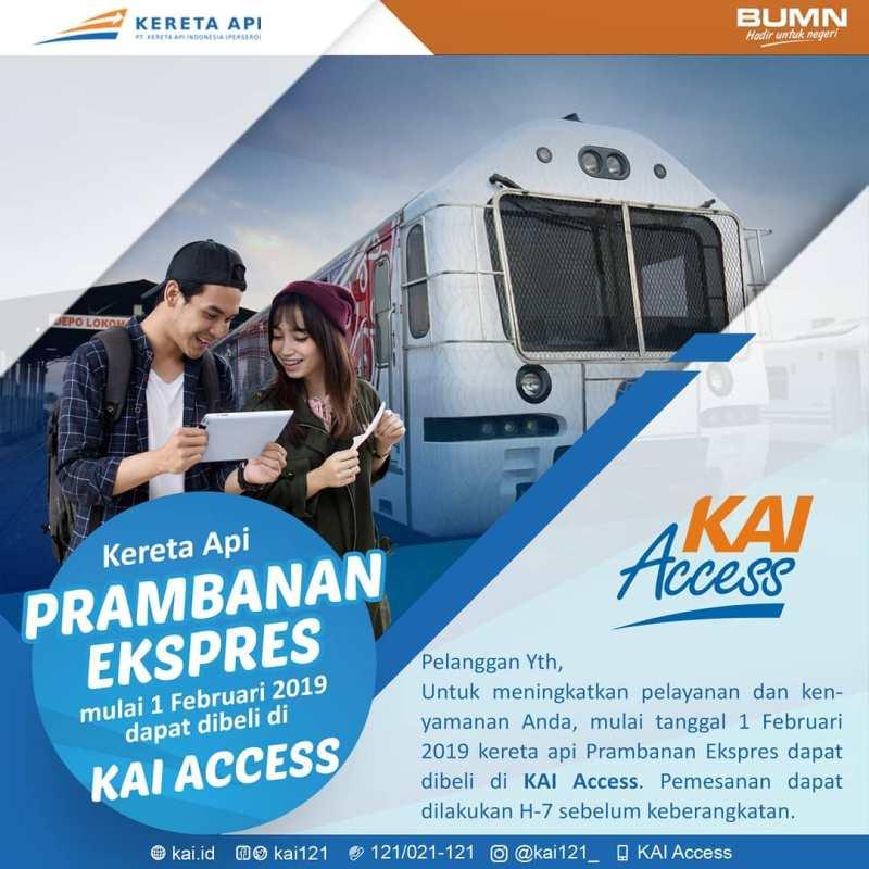 Berikut adalah langkah cara beli tiket Prameks online.