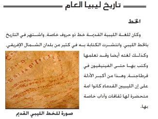 اللغة الليبية