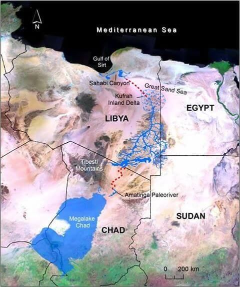 الميارة الجوفية في ليبيا