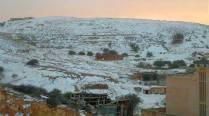 قرية قباع في الشتاء - غريان