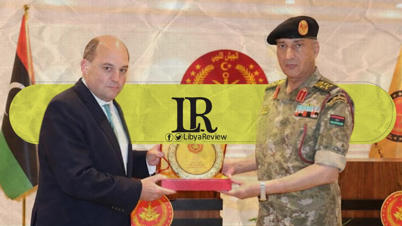 UK Defence Minister Meets Libyan Military Officers - LibyaReview