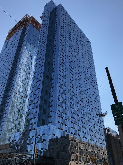 Facade Work Nearly Complete At Tishman Speyers Long