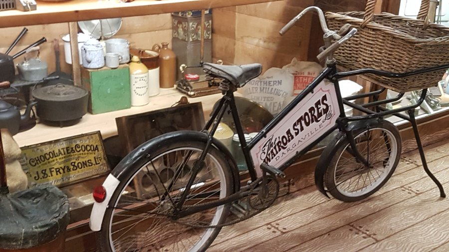 The delivery bicycle