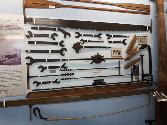 More tools from Thompson's boat yard