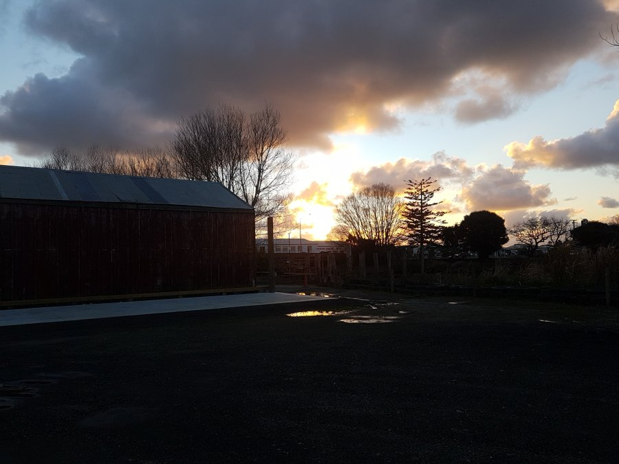 Sunset in Dargaville