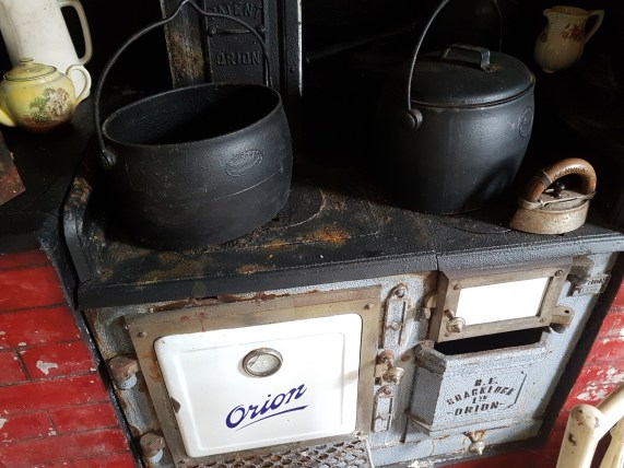 The stove at Clendon House