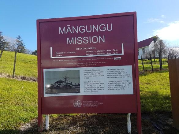 Mangungu Mission Hours