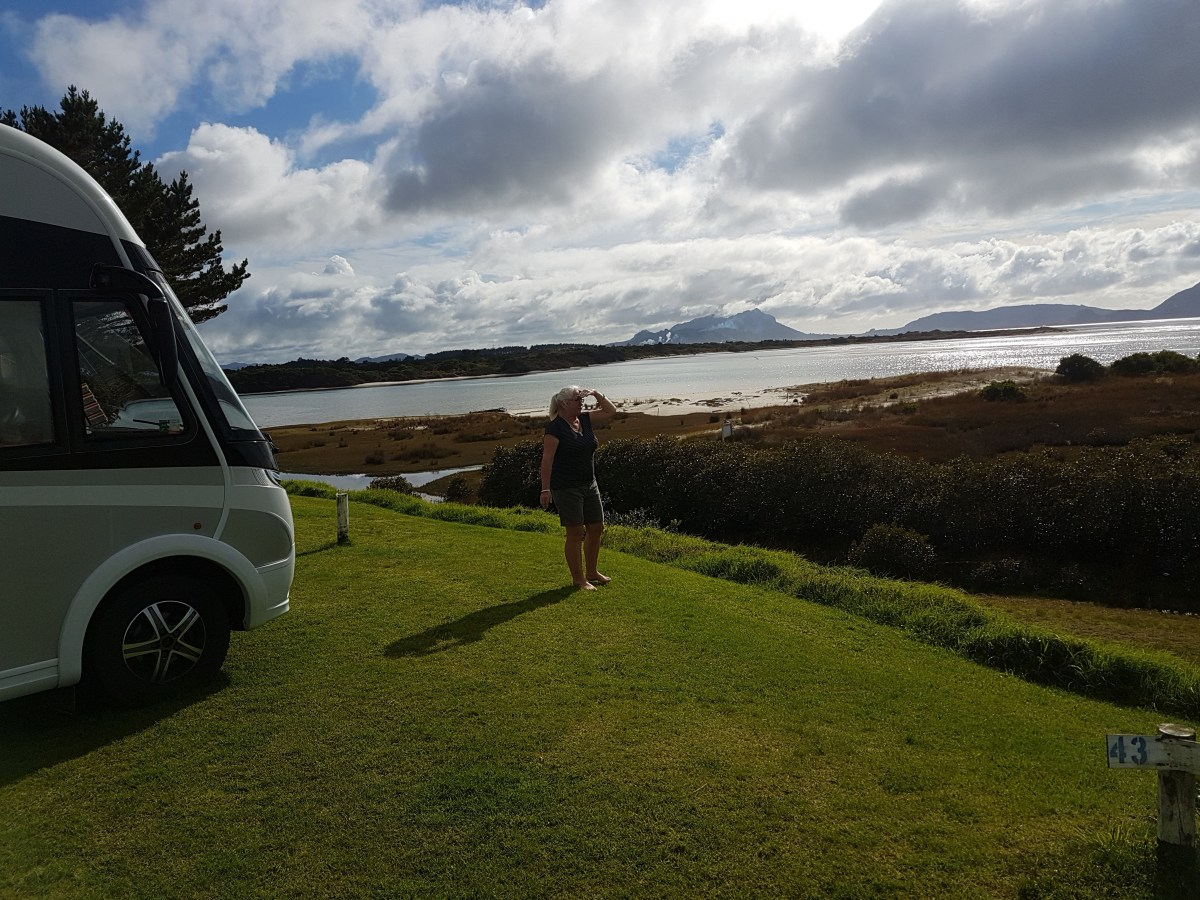 Camping at Ruakaka Beach