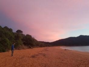 Sunrise at Totaranui
