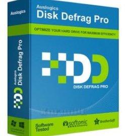 Auslogics Disk Defrag Pro 10.0.0.4 Crack + Serial Key Free Download