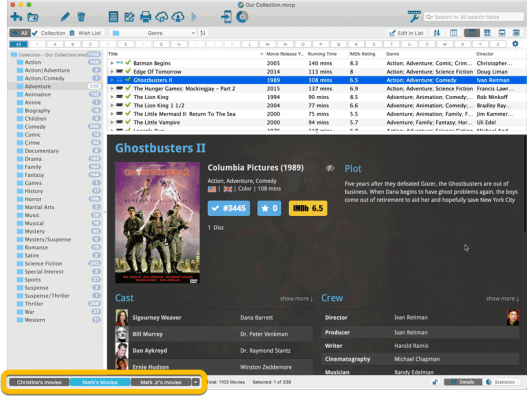 Movie Collector 21.1.1 Crack With Serial Key Free Download