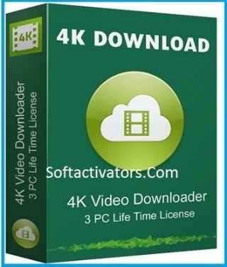 4K Video Downloader 4.15.0.4160 Crack With Activation Key Latest Free