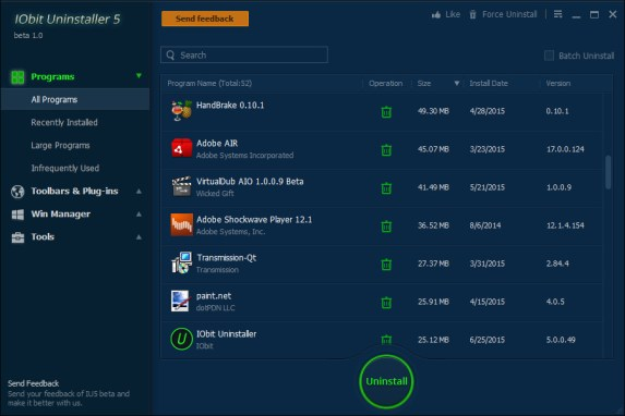 IOBIT Uninstaller Pro 10.3.0.113 Crack + Serial Key Latest 2021 Free