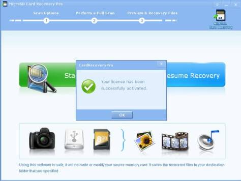 MICRO SD CARD RECOVERY PRO 2.9.9 License Key