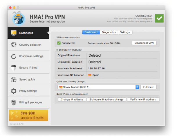 HMA Pro VPN 5.0.233 Crack + License Key 2020 [Latest]