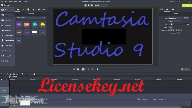 Camtasia Studio 9 Key {Crack + Patch + Keygen} Full
