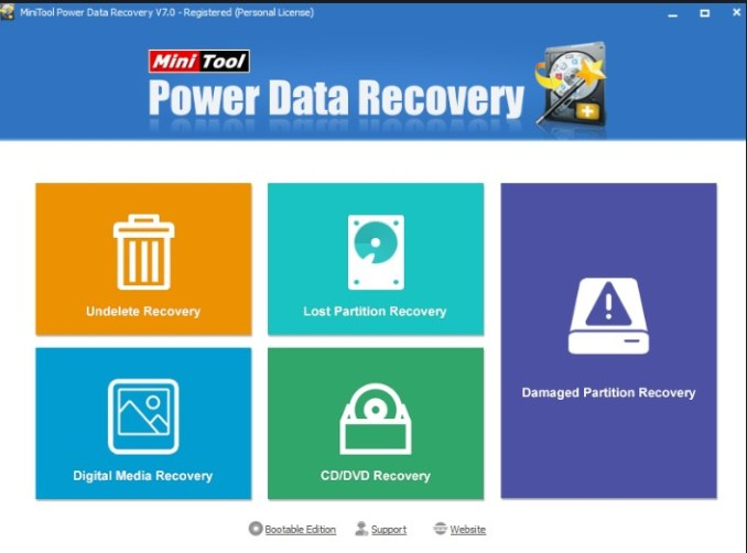 Minitool Power data recovery Crack Free Download With License Code
