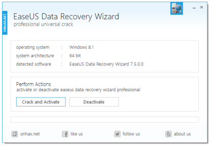 EaseUS Data Recovery Wizard 13.6 Crack + License Code (ISO)