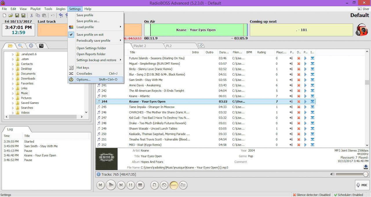 RadioBOSS 5.9.3.0 Crack + Serial Key 32/64 Bit (2020)