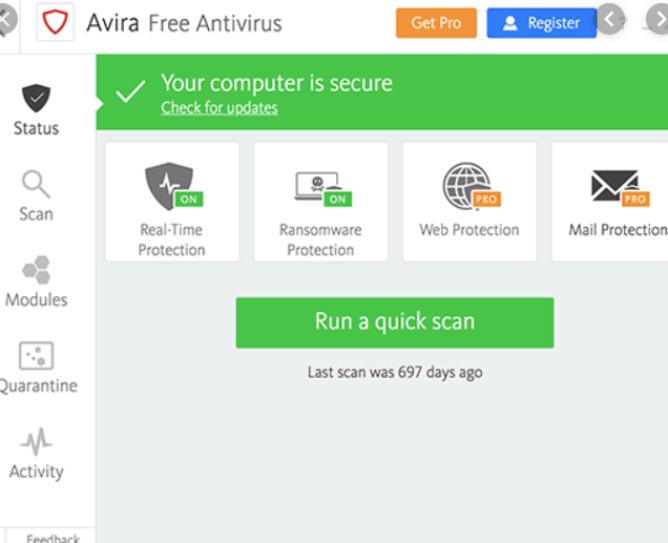 Avira Antivirus Pro Key 15.0.2103.2081 Crack + Activation Key