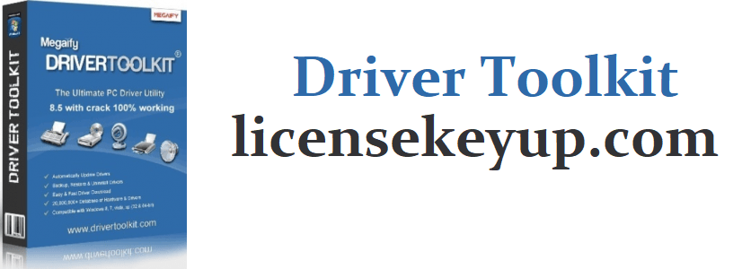 Driver Toolkit 8.9 Crack + License Key (latest version)