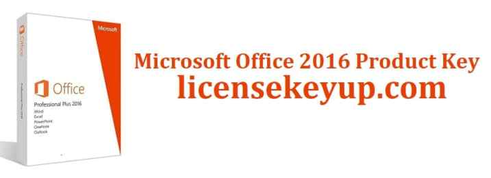 Microsoft Office 2016 Product Key Free For You 2021