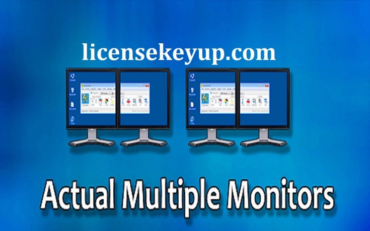 Actual Multiple Monitors 8.14.4 Crack With Serial Key For FREE