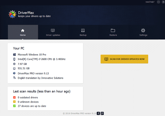 DriverMax Pro 12.11.0.6 Crack Plus Torrent [2021 Latest]