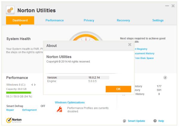 Symantec Norton Utilities 16.0.3.44 + Crack [Latest 2020] Download