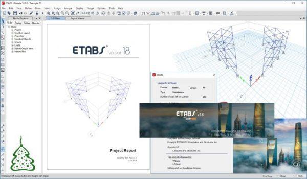 CSI Etabs v18.1.1 Crack + Patch Free Download 2020 [Till 2050]