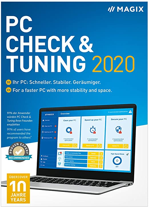 Magix PC Check & Tuning 2020 Crack + Serial Key Free Download