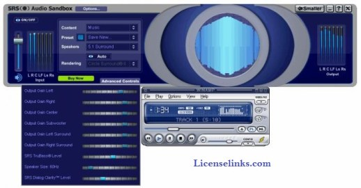 SRS Audio SandBox 1.10.2.0 Crack Keygen Full Version Download