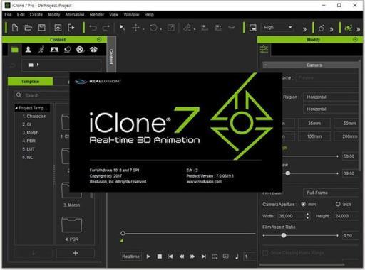 Reallusion iClone Pro 7.9.5124.1 Full Crack + Key 2021 Download