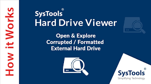 SysTools Hard Drive Data Viewer Pro 16.1.0.0 Crack & Registration Key