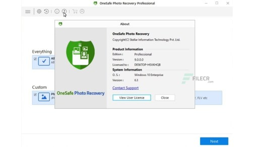 OneSafe Data Recovery Professional Patch + product key