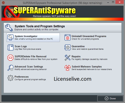 SUPERAntiSpyware Professional 10.0.1208 With Crack [Latest]