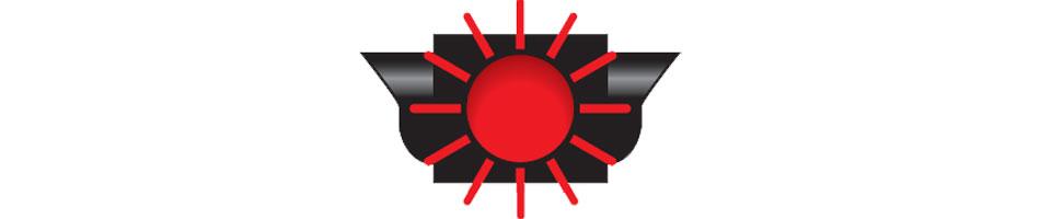 red flashing signal