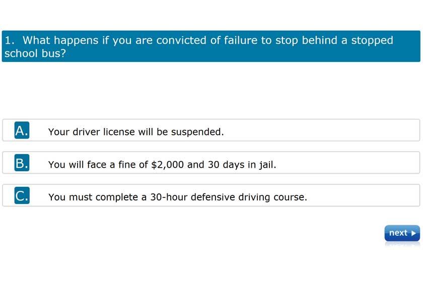 dmv written test - copyright: California DMV Practice Test