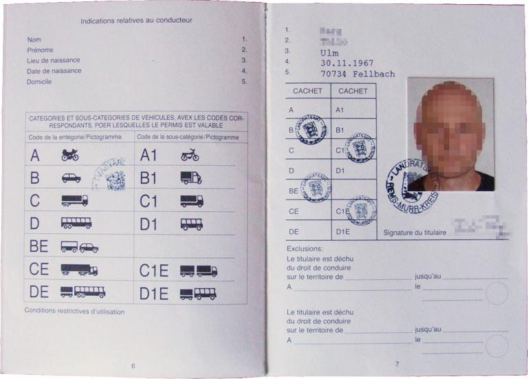 Driving Permit – Thilo Parg