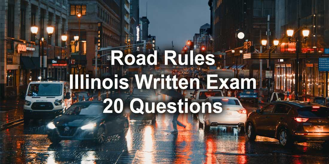 Illinois Road Rules Written Exam